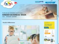 kinderbusinessweek.at Webseite Vorschau