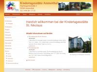 kindergarten-ammerthal.de Webseite Vorschau