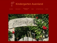 kindergarten-auenland.de Webseite Vorschau