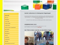 kindergarten-regenbogen-gotteszell.de Webseite Vorschau