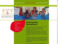 kindergarten-springinkerl.at Webseite Vorschau
