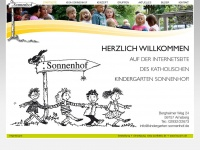 kindergarten-sonnenhof.de Webseite Vorschau