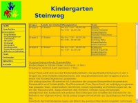 kindergarten-steinweg.de Webseite Vorschau