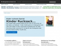 kindergartenrucksack.de
