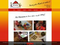 kinderhaus-bambini.at Webseite Vorschau