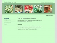 kinderhaus-bdp.de Webseite Vorschau