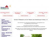 kinderhaus-frohnau.de Webseite Vorschau