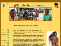 kinderhaus-frieda.de Webseite Vorschau