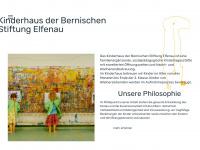 kinderhaus-elfenau.ch Webseite Vorschau