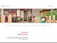 kinderhaus-grauer-esel.de Webseite Vorschau