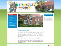 kinderhaus-norden.de Webseite Vorschau