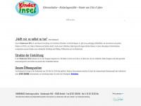 kinderinsel-ev.de Webseite Vorschau