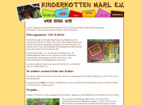 kinderkotten-marl.de Webseite Vorschau