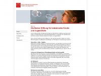 kinderkrebs-bern.ch Webseite Vorschau