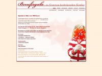 kinderkrebshilfe-benefizgala.de Webseite Vorschau