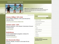 kindermode-guenstig.de Webseite Vorschau