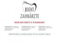 kindermund-zahngesund.de Webseite Vorschau