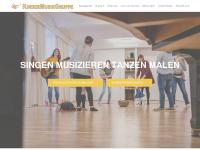 kindermusikgruppe.at Webseite Vorschau