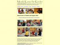 kindermusizieren.ch Webseite Vorschau