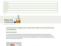 kindernachsorge.de Webseite Vorschau