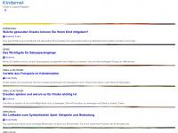 kindernet.at Webseite Vorschau