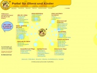 kinderparadies.de Webseite Vorschau