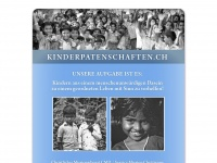 kinderpatenschaften.ch Webseite Vorschau