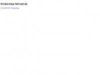 kindersitze-fahrrad.de Webseite Vorschau