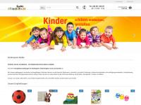 kinderspass-radke.de Webseite Vorschau