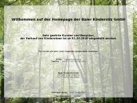 kindersitz.de Webseite Vorschau
