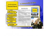 kinderspielstadt-deutschland.de Webseite Vorschau