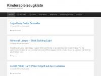 kinderspielzeugkiste.de Webseite Vorschau