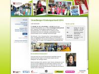 kindersportwelt.at Webseite Vorschau