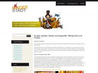 kinderstadt.at Webseite Vorschau