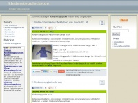 kindersteppjacke.de Webseite Vorschau
