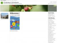 kindertag-scharbeutz.de Webseite Vorschau