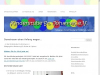 kinderstube-st-johannes.de Webseite Vorschau