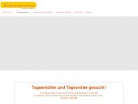 kindertagespflegeverein.de Webseite Vorschau