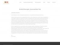 kindertherapie-duesseldorf.de Webseite Vorschau