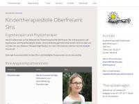 kindertherapie-oberfreiamt.ch Webseite Vorschau