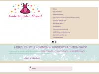 kindertrachten-shop.at Webseite Vorschau