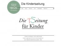 kindertseitung.de Webseite Vorschau