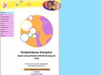kindertraeume-kempten.de Webseite Vorschau