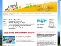 kinderuni-furtwangen.de Webseite Vorschau