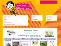 kinderverein-ottokar.de Webseite Vorschau