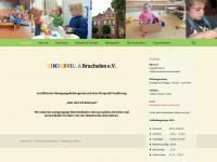 kindervilla-brachelen.de Webseite Vorschau