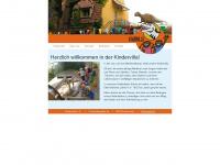 kindervilla-hannover.de Webseite Vorschau