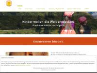 kindervisionen.de Webseite Vorschau