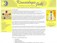 kinesiologie-jakl.at Webseite Vorschau