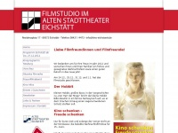 kino-eichstaett.de Webseite Vorschau